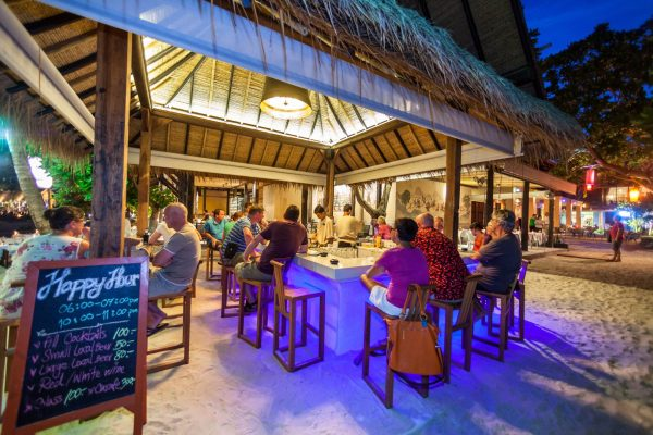 best beach dining Koh Phangan