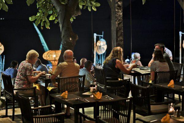 dinner Phangan island
