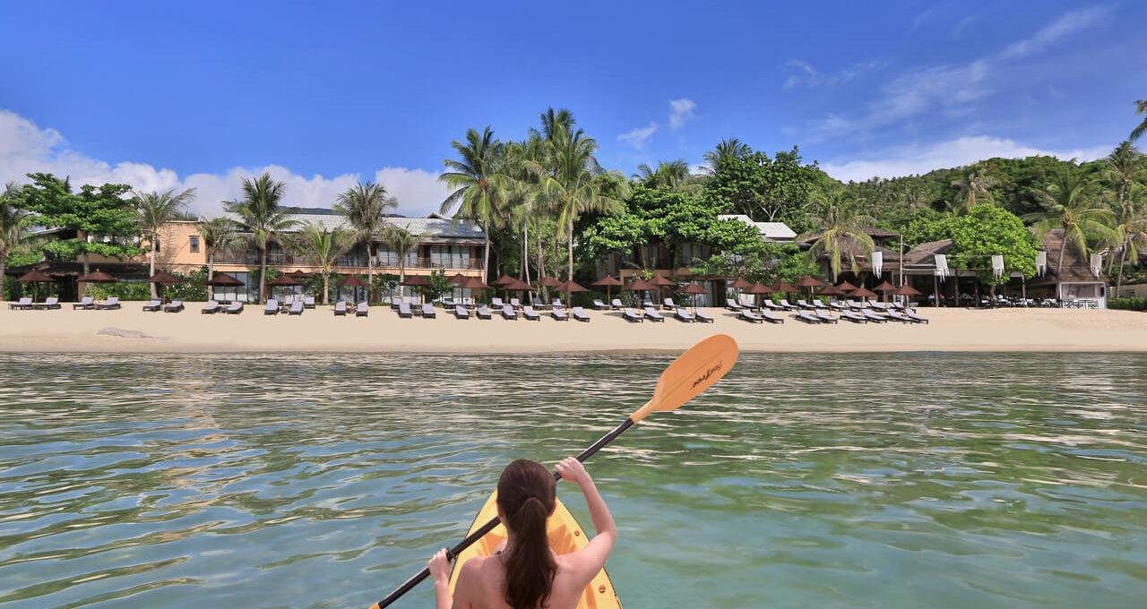 beach activities Koh Phangan