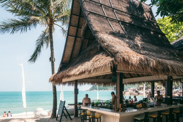 best beach bar Thong Nai Pan