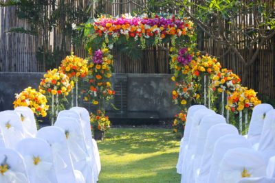 romantic wedding Koh Samui