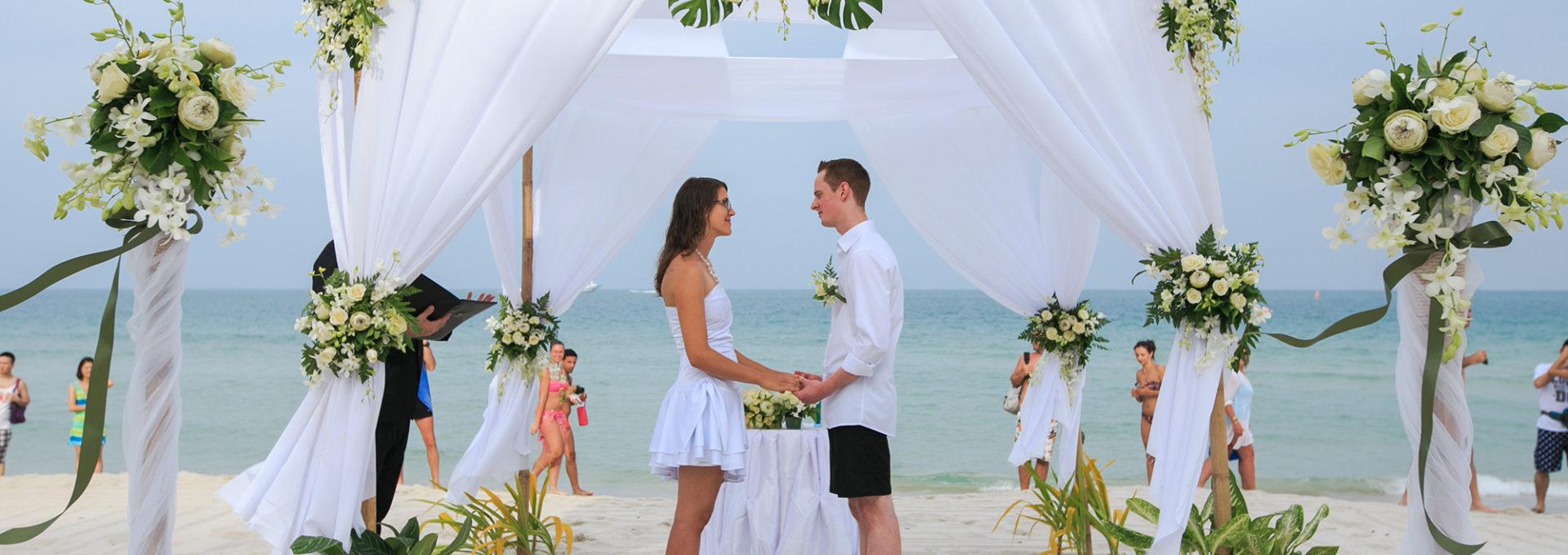 wedding Chaweng beach